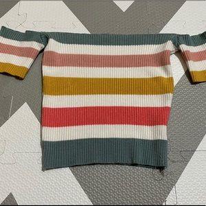 Debut Crop Knit Top